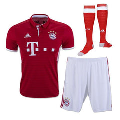 Bayern Munich 16/17 Home Full Kit - IN STOCK NOW - TNT Soccer Shop