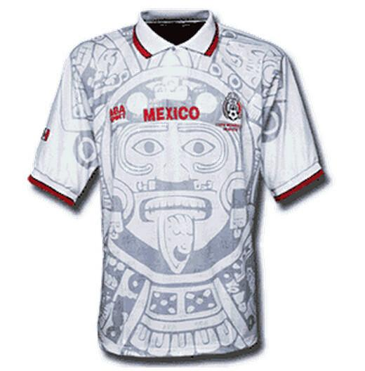 970664a8d 1998 Mexico Retro Away Jersey - IN STOCK NOW - TNT Soccer Shop