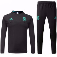 Real Madrid 17/18 Black Tracksuit - IN STOCK NOW - TNT Soccer Shop