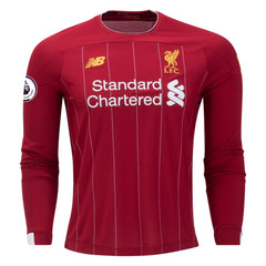 Liverpool 19/20 Home LS Jersey Personalized Long Sleeve Jersey TNT Soccer Shop S Premier League No
