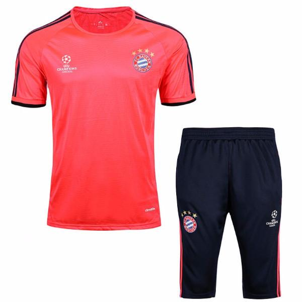 Bayern Munich 16/17 Solar Red UCL Training Kit Training Kit TNT Soccer Shop