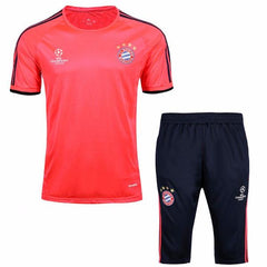 Bayern Munich 16/17 Solar Red UCL Training Kit - IN STOCK NOW - TNT Soccer Shop