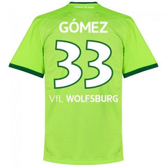VfL Wolfsburg 16/17 Home Jersey Mario Gómez #33 - IN STOCK NOW - TNT Soccer Shop