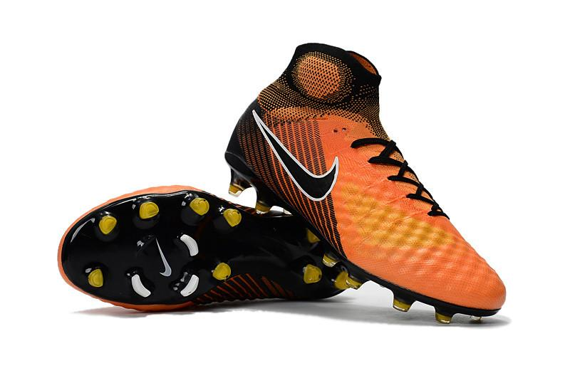 Magista Obra II FG - Orange Footwear TNT Soccer Shop