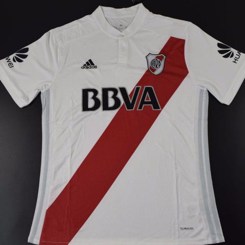 River Plate 17 18 Home Jersey Personalized - IN STOCK NOW - TNT Soccer Shop e0c329390