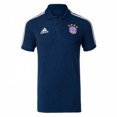 Bayern Munich 2017 Blue Polo - IN STOCK NOW - TNT Soccer Shop