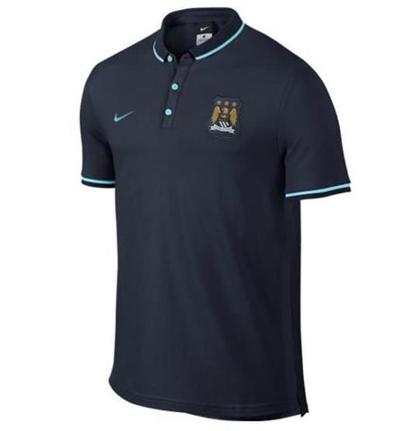 Man. City 2016 Navy Polo - IN STOCK NOW - TNT Soccer Shop