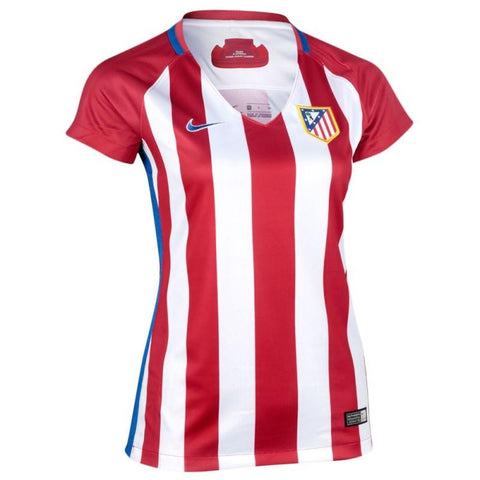 Atletico Madrid 16/17 Home Women's Jersey READY TO SHIP! - IN STOCK NOW - TNT Soccer Shop