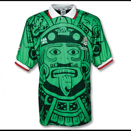 ff92c79ca 1998 Mexico Retro Home Jersey - IN STOCK NOW - TNT Soccer Shop