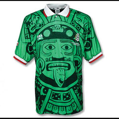 1998 Mexico Retro Home Jersey - IN STOCK NOW - TNT Soccer Shop