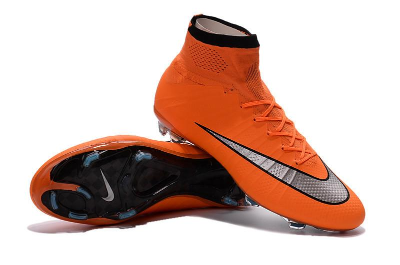 Mercurial Superfly FG - Metal Flash Bright Mango Footwear TNT Soccer Shop