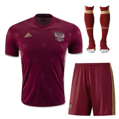 Russia 2016 Home Full Kit - IN STOCK NOW - TNT Soccer Shop
