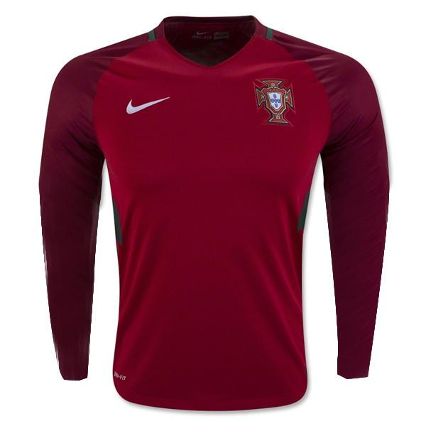 Portugal 2016 Home LS Jersey Personalized - IN STOCK NOW - TNT Soccer Shop