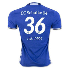 Schalke 04 16/17 Home Jersey Embolo #36 - IN STOCK NOW - TNT Soccer Shop