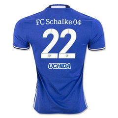 Schalke 04 16/17 Home Jersey Uchida #22 - IN STOCK NOW - TNT Soccer Shop
