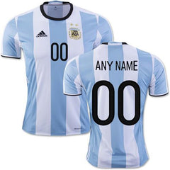 Argentina 2016 Home Jersey Personalized - IN STOCK NOW - TNT Soccer Shop