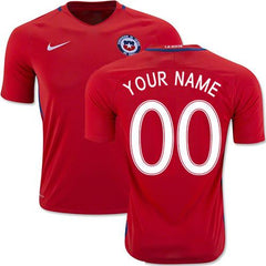 Chile 2016 Home Jersey Personalized Jersey TNT Soccer Shop