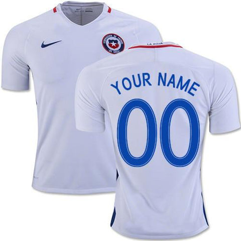Chile 2016 Away Jersey Personalized - IN STOCK NOW - TNT Soccer Shop