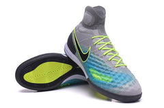 MagistaX Proximo II IC - Grey Blue Footwear TNT Soccer Shop