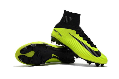 Mercurial Superfly V FG - Fluorescent Green - IN STOCK NOW - TNT Soccer Shop