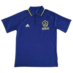L.A Galaxy 17/18 Blue Polo - IN STOCK NOW - TNT Soccer Shop