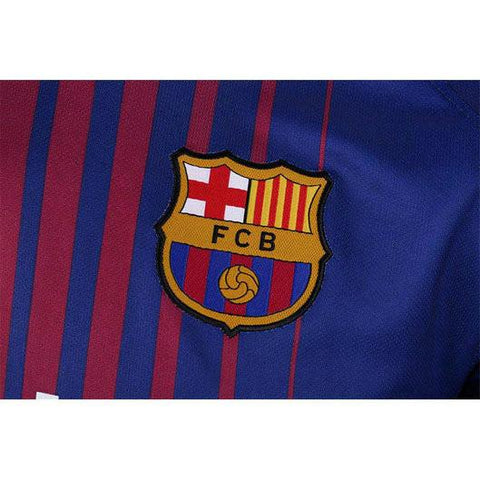 check out 9f6f6 789a2 Barcelona 17/18 Home Jersey Coutinho #14