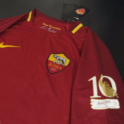 c52db9cd56c AS Roma 17 18 Home Jersey Totti  10 Special Edition – TNT Soccer Shop