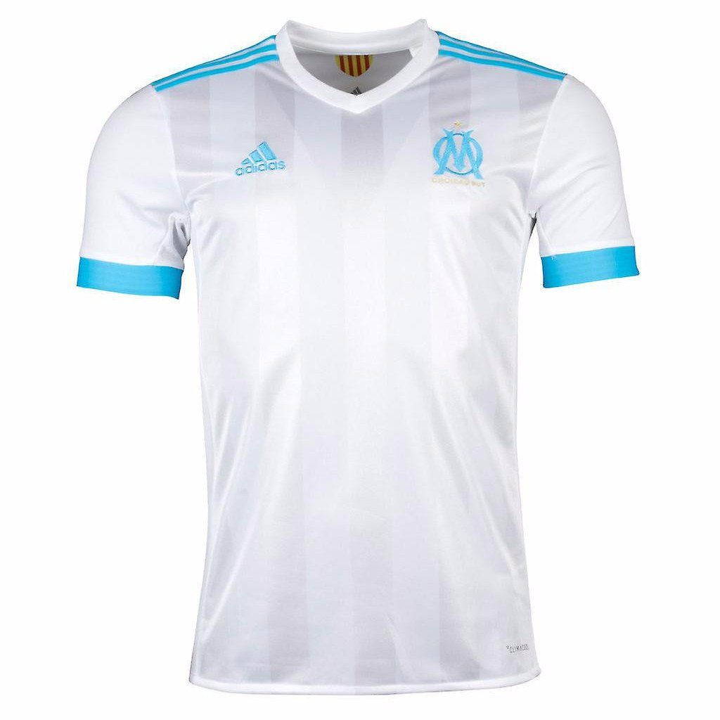 dc349d9a3a1 Olympique Marseille 17 18 Home Jersey - IN STOCK NOW - TNT Soccer Shop