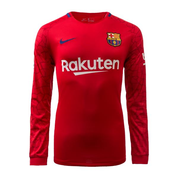 Barcelona 17/18 Goalkeeper LS Jersey Ready to Ship! Long Sleeve Jersey TNT Soccer Shop