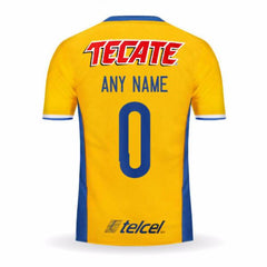 Tigres UANL 16/17 Home Jersey Personalized - IN STOCK NOW - TNT Soccer Shop