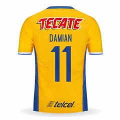 Tigres UANL 16/17 Home Jersey Damian #11 - IN STOCK NOW - TNT Soccer Shop