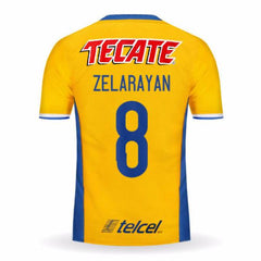 Tigres UANL 16/17 Home Jersey Zelarayán #8 - IN STOCK NOW - TNT Soccer Shop