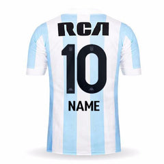 Racing Club 17/18 Home Jersey Personalized Jersey TNT Soccer Shop