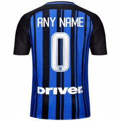 Inter Milan 17/18 Home Jersey Personalized Jersey TNT Soccer Shop