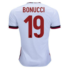 AC Milan 17/18 Away Jersey Bonucci #19 - IN STOCK NOW - TNT Soccer Shop