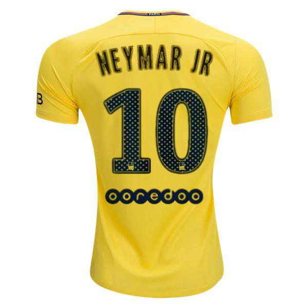 Paris Saint-Germain 17/18 Away Jersey Neymar Jr. #10 READY TO SHIP! Jersey TNT Soccer Shop