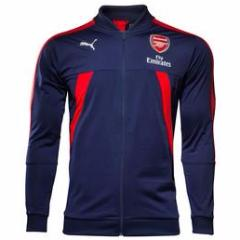 Arsenal 17/18 Blue Jacket - IN STOCK NOW - TNT Soccer Shop
