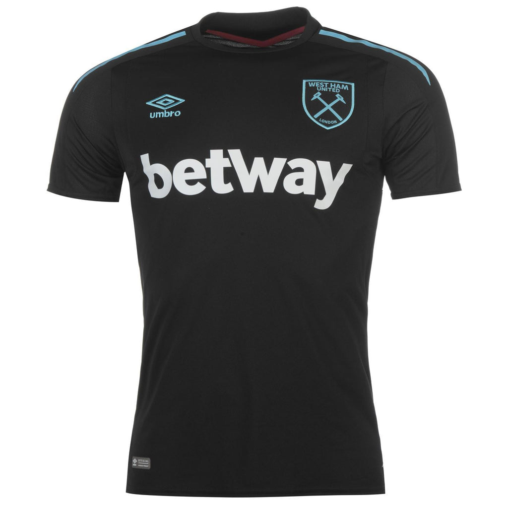 West Ham 17/18 Away Jersey Jersey TNT Soccer Shop