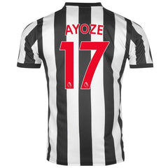 Newcastle 17/18 Home Jersey Ayoze #17 Jersey TNT Soccer Shop
