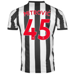 Newcastle 17/18 Home Jersey Mitrović #45 Jersey TNT Soccer Shop