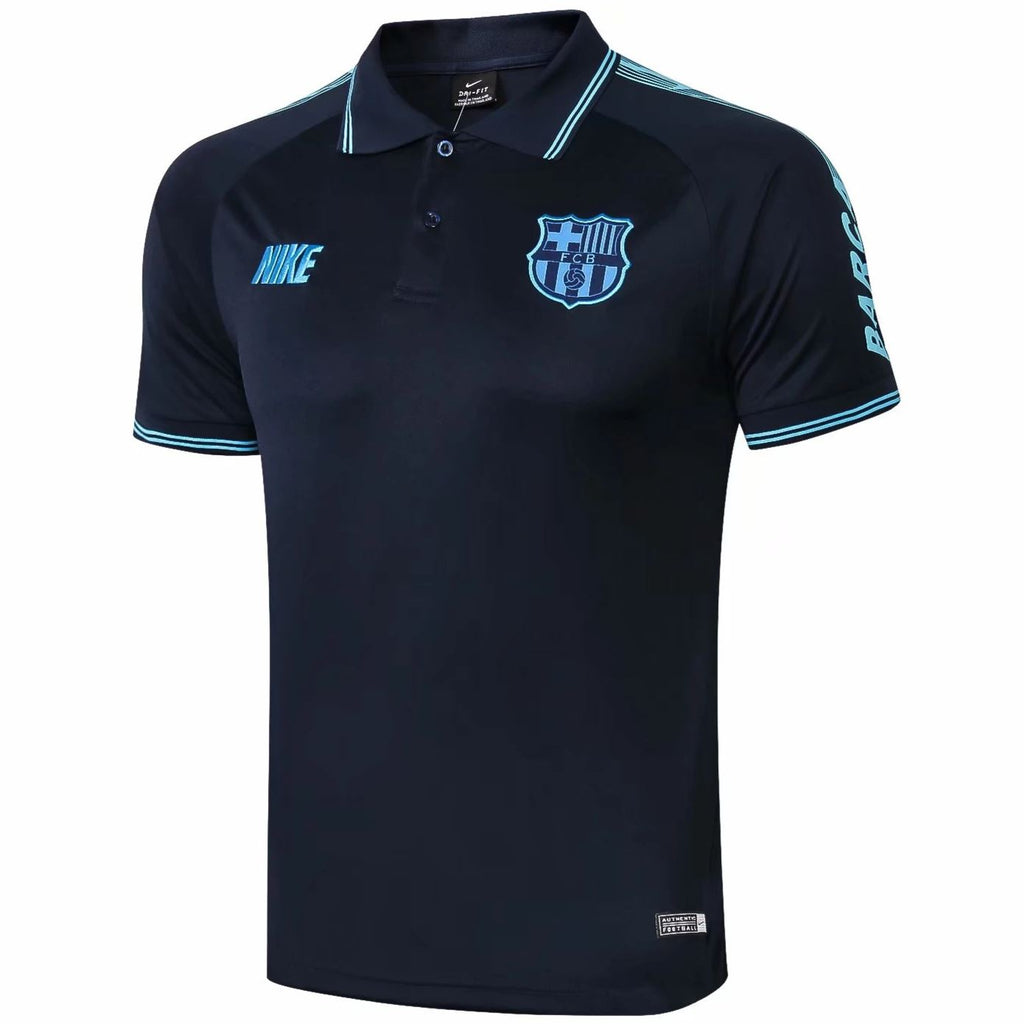 Barcelona 19/20 Navy Blue Polo Polo TNT Soccer Shop