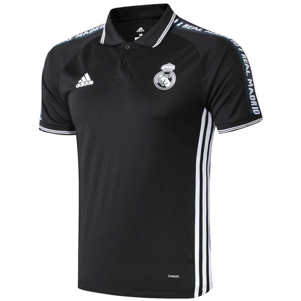 Real Madrid 19/20 Black Presentation Polo Polo TNT Soccer Shop