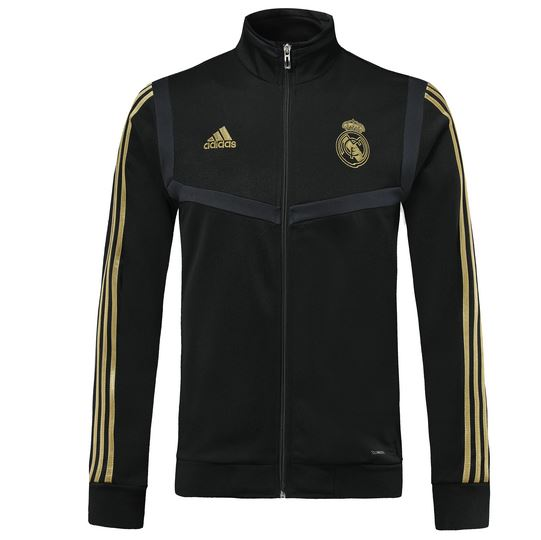 Real Madrid 19/20 Black Presentation Jacket Jacket TNT Soccer Shop