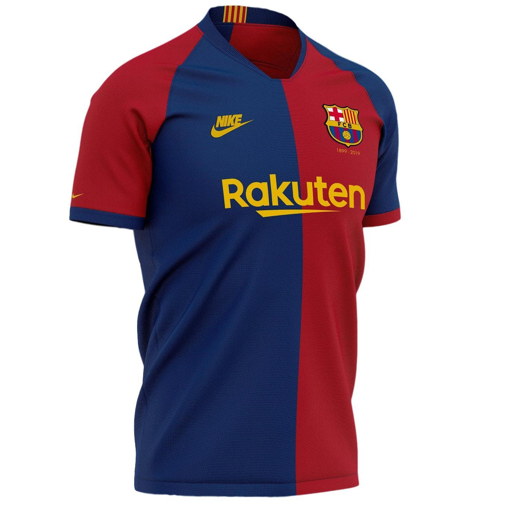 Barcelona 120th Anniversary Special Edition Home Jersey Training Jerseys TNT Soccer Shop