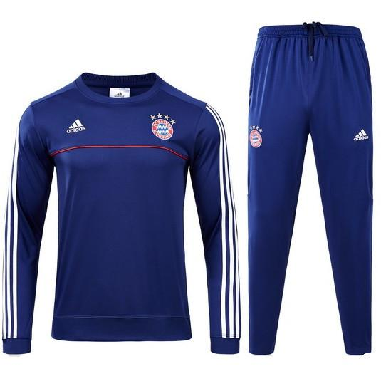 Bayern Munich 17/18 Blue Tracksuit - IN STOCK NOW - TNT Soccer Shop
