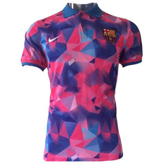 Barcelona 17/18 Pink Polo - IN STOCK NOW - TNT Soccer Shop