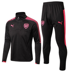 Arsenal 17/18 Black Pre-Match Tracksuit - IN STOCK NOW - TNT Soccer Shop