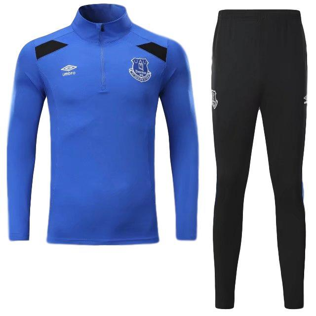 Everton 17/18 Blue Pre-Match Tracksuit - IN STOCK NOW - TNT Soccer Shop