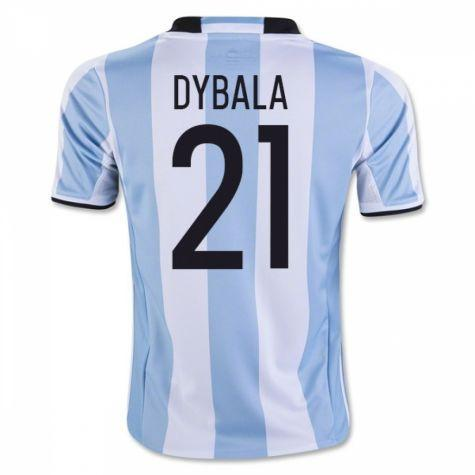 online store ce3be 185bb Argentina 2016 Home Jersey Dybala #21