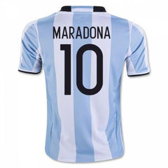 Argentina 2016 Home Jersey Maradona #10 - IN STOCK NOW - TNT Soccer Shop